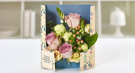 gatefold flowercards