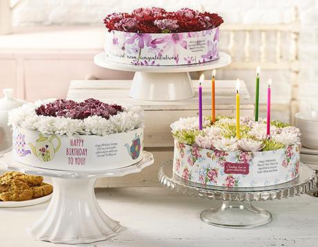 """Flower """"Cakes"""""""