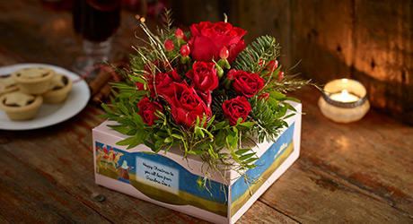 Christmas Flowerboxes & Bouquets