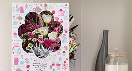 Mother's Day Flowercard Grande