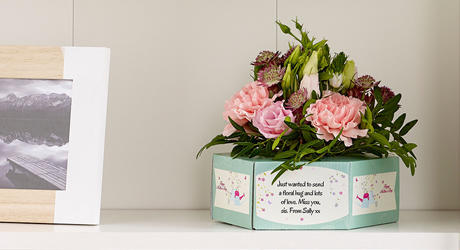 Mother's Day Flowerboxes & Bouquets