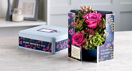 Mother's Day Cards In Tins