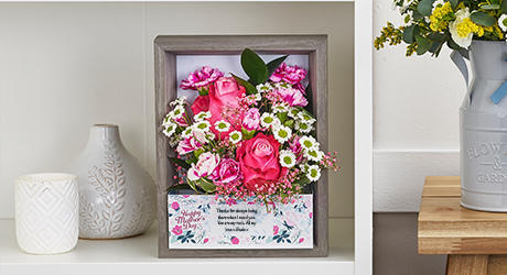 Birthday Flowerframes