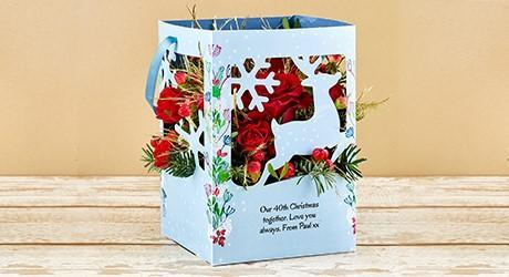 Christmas Lantern Cards