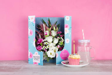 Birthday Flowercards
