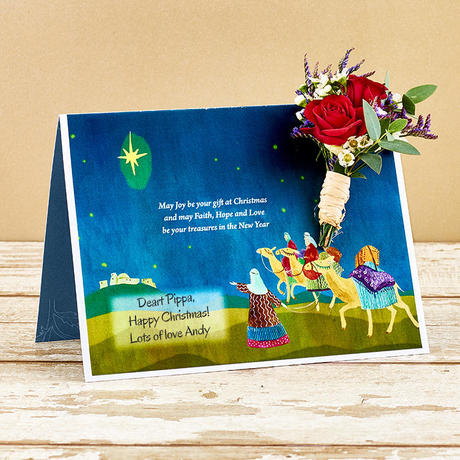 Christmas Letterbox Flowers