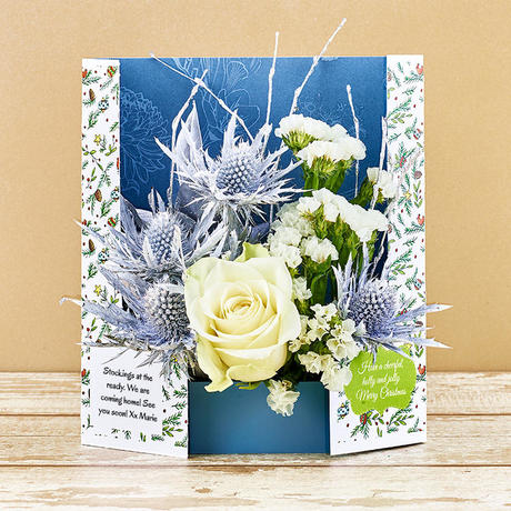 Christmas Gatefold Flowercards