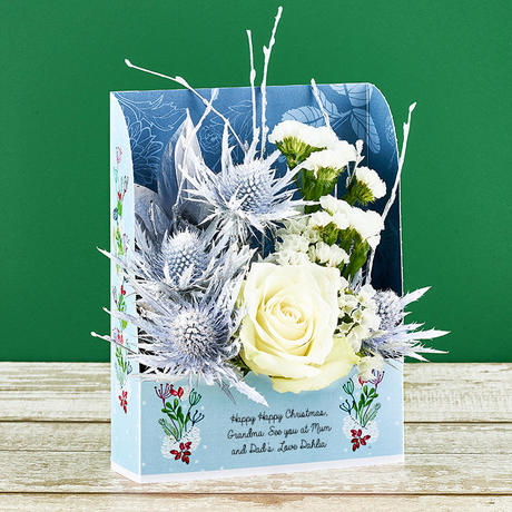 Christmas Frame Flowercards