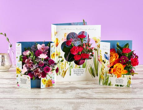 Mother's Day Flowercards