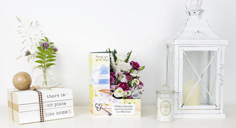 New Home Flowers & Personalised Cards