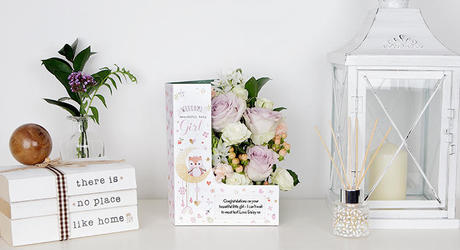 New Baby Flowers & Cards