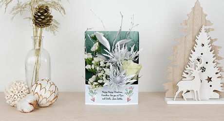 Christmas Frame Flowercards