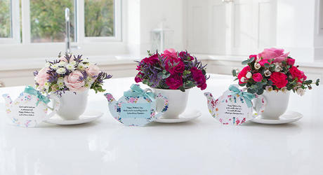Mother's Day Teacups