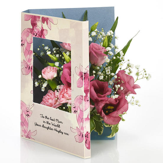 Flowercard Mother's Day Card