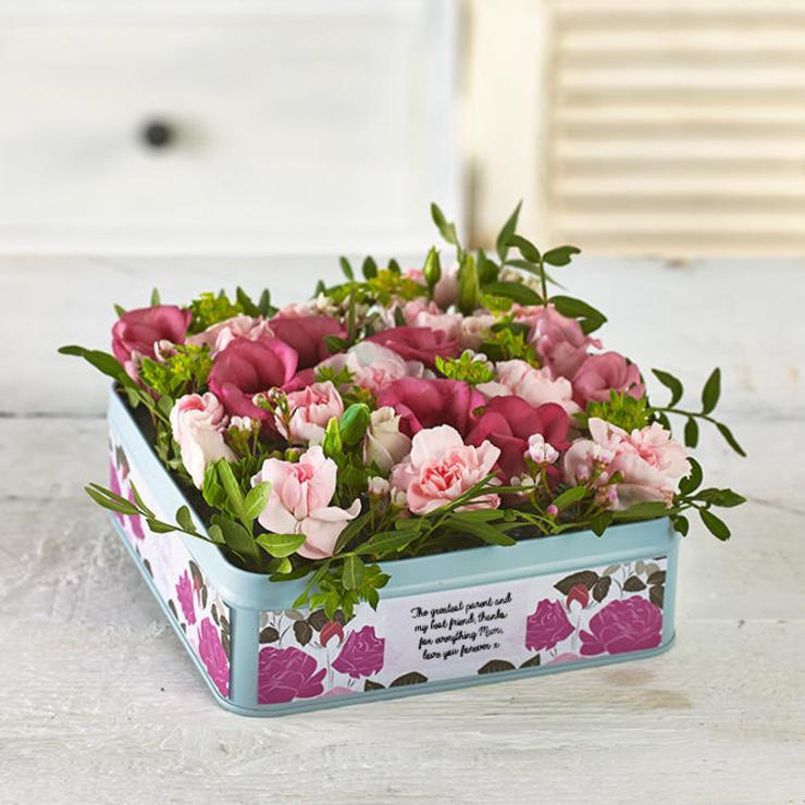 Mum's Blushing Blooms