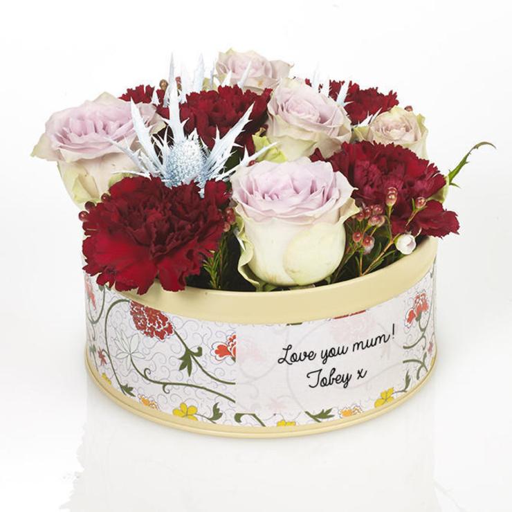 Mum's Scarlet Blooms