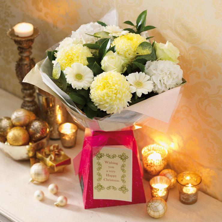 Christmas Satin Bouquet