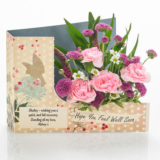 Flowercard by Post