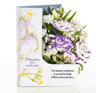 flower cards sympathy