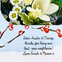 Winter Berry Bouquet