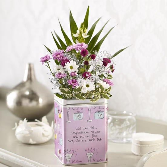 Click to enlarge - Fizz & Flowers
