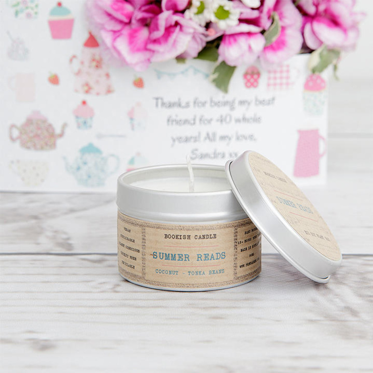 Summer Reads scented candle