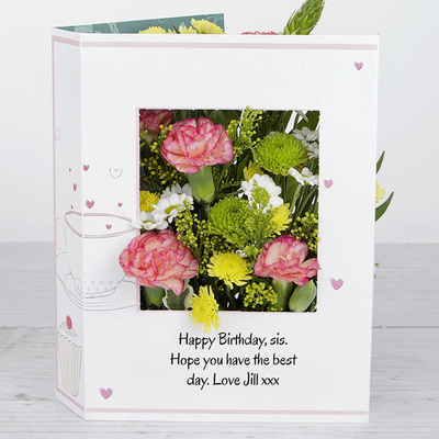 Birthday Surprise - Flower Cards