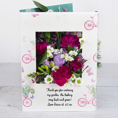 Purple Polly - Flower Cards