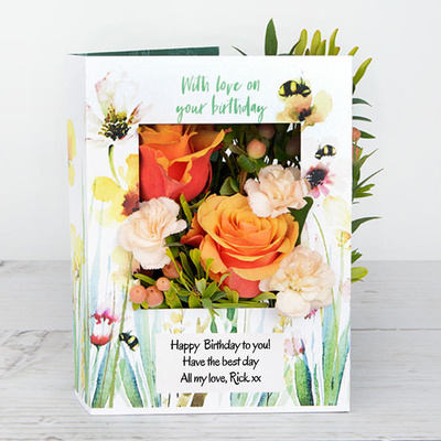 From Bee to You! - Flower Cards
