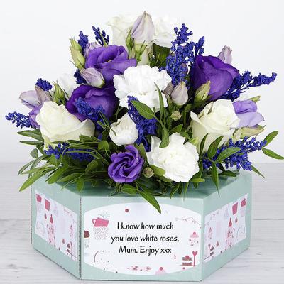 Purple Pirouette - Flower Cards