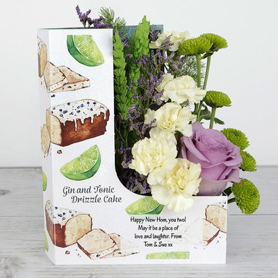 Time For Cake - Flower Cards