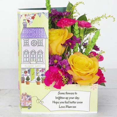 Bonny Bunting - Flower Cards