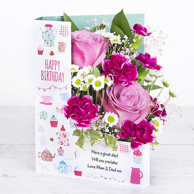 Birthday Cakes - Flower Cards