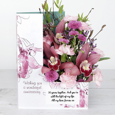 Lilac Love - Flower Cards