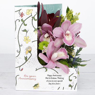 Orchid Blush - Flower Cards