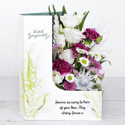Condolence - Flower Cards