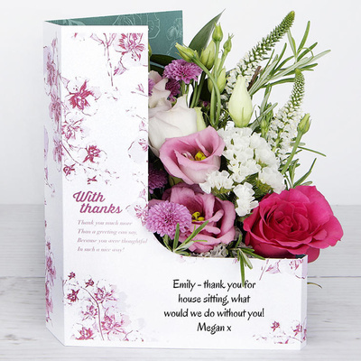 Heartfelt Thanks - Flower Cards