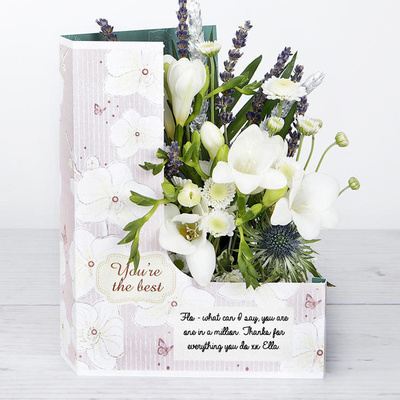 Dusty Rose - Flower Cards