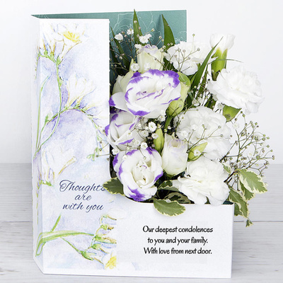 Gentle Hug - Flower Cards