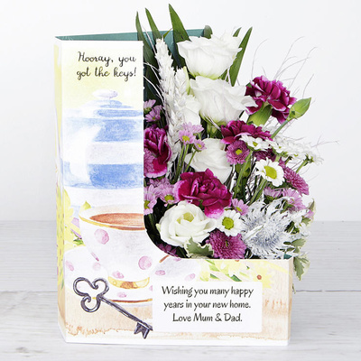 Stay For Tea - Flower Cards