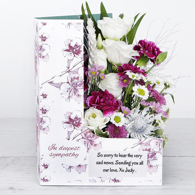 Pink Embrace - Flower Cards