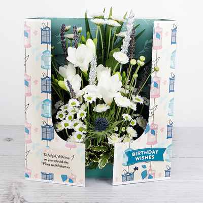 Birthday Blooms - Flower Cards
