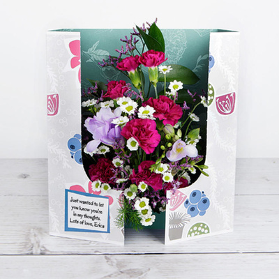Blueberry Muffin - Flower Cards