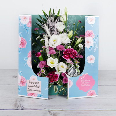 Birthday in Bloom - Flower Cards