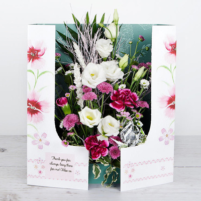 Elegant Surprise - Flower Cards
