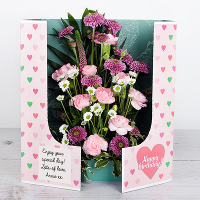 Big Birthday Love - Flower Cards