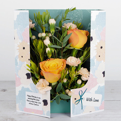 Rosey Posy - Flower Cards