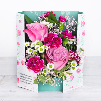 Rose Pink - Flower Cards