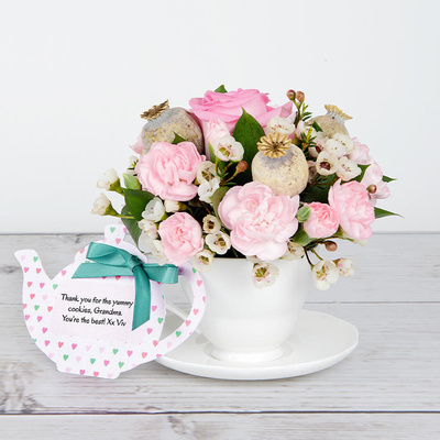 Hearts Abound - Flower Cards
