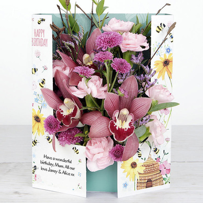 Birthday Buzz - Flower Cards